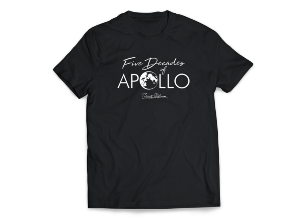 5 decades of apollo 11 anniversary t shirt