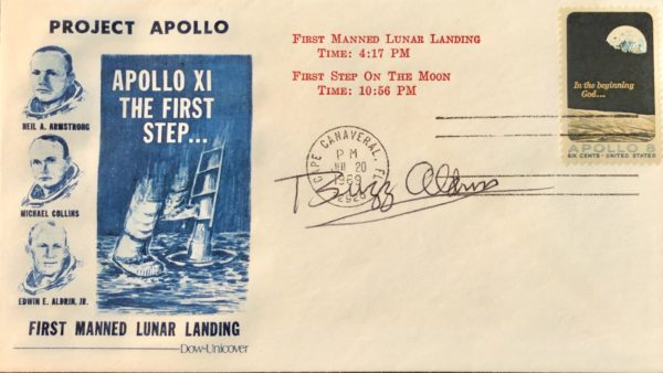 Apollo 11 Humankind's First Step on the Moon Cover