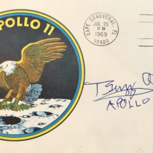 Apollo 11 insignia first day cover