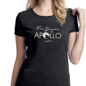 cba7354c Women's Five Decades of Apollo Buzz Aldrin Tee-Shirt