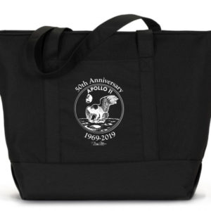 Apollo 11 Anniversary tote bag