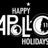 happy holidays buzz aldrin apollo t shirt gift space