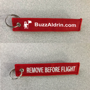 buzz aldrin keychain apollo 11